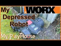 solar powered robot lawn mower