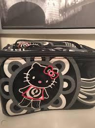 o kitty for mac makeup train case