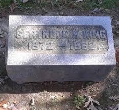 Gertrude Bigley King (1872-1962) - Find A Grave Memorial
