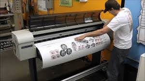 How We Make Custom Cut Vinyl Stickers Decals At Heritage Printing Graphics In Dc Charlotte Nc Youtube