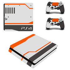 Ps4 Slim Skin Sticker For Playstation 4 Console And Controllers Decal Ps4 Slim Skin Sticker Vinyl Shopee Philippines