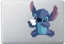 Stitch Decal Apple Laptop Sticker Disney Vinyl Macbook Pro Air Retina 13 15 17 Disney Macbook Decal Laptop Stickers Disney Macbook Vinyl Decals