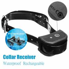 Pet Supplies Outdoor Wireless 1 2 Dog Training Shock Collar Fence Pet Electric Trainer System Electronic Fences