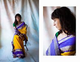 In her mother's sari — SOUP