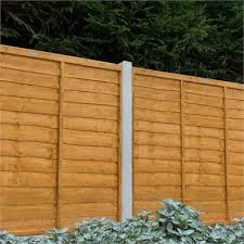 Forest Larchlap Lap 1 8m Fence Panel Pack Of 4 Homebase