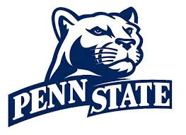 Ncaa0488 Penn State Nittany Lions Dual Die Cut Vinyl Graphic Decal Sticker Ncaa