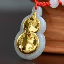 good quality gourd jade pendant