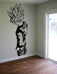 Fan Art Vinyl Wall Decal Awesome Wall Decor Boy Wall Art Dragon Ball Wall Decals