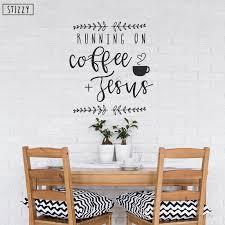 home garden coffee bar wall decals sticker cafe vinyl art