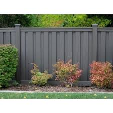 Trex Seclusions 6 Ft X 8 Ft Winchester Grey Wood Plastic Composite Board On Board Privacy Fence Panel Kit Tfgpfk68 The Home Depot Privacy Fence Panels Backyard Fences Fence Design