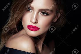 beauty makeup woman with beautiful