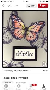 Pin by Avis Patterson on Cards | Butterfly cards, Inspirational cards,  Cards handmade
