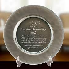silver gl 25th anniversary plate