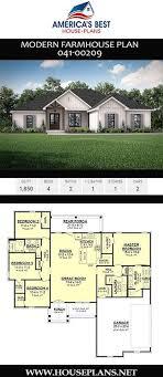 modern farmhouse plan 041 00209 in 2020