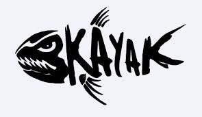 Kayak Vinyl Decal Kayak Stickers Kayak Decals Kayaking