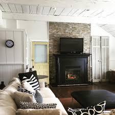 metal fireplace surround