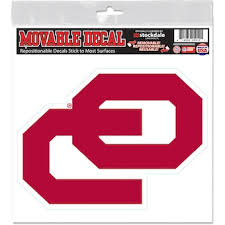 University Of Oklahoma Car Decals Decal Sets Oklahoma Sooners Car Decal Shop Soonersports Com