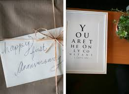 1 year of marriage anniversary