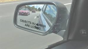 Objects In Mirror Are Losing Mirror Decal Car Decal Side Etsy