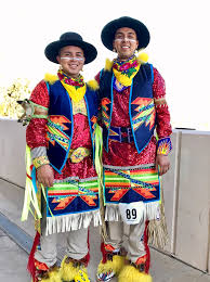 Gay Native American Couple Hopes to Break Barriers Through Dance    PEOPLE.com