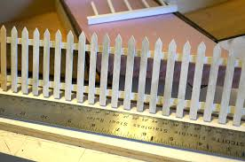 How To A Miniature White Picket Fence The Wonder Of Miniature Worlds