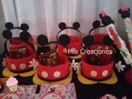Bolsa Golosinera Mickey Mouse En Goma Eva 40 00 En Mercado Libre