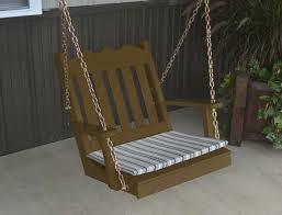 chair swing amish made usa