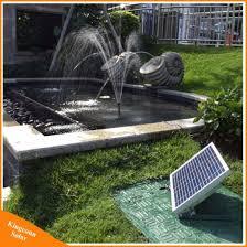 17v 10w solar powered water fountain