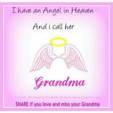 happy birthday grandma in heaven es