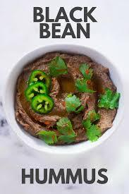 healthy black bean hummus recipe a