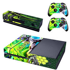 Popular Game Genji Skin Sticker For Xbox One Console Decals Controller Skin Xbox One Skin Overwatch Xbox Xbox One Console