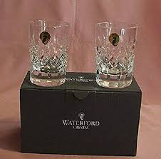 waterford theresa whiskey tumbler pair