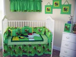 farm john deere crib bedding for a baby boy
