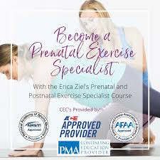 prenatal fitness certification a new