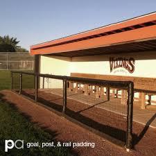 Goal Post Padding Rail Padding Fence Padding Putterman Athletics