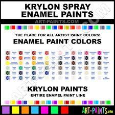 krylon paint colors blue