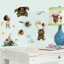 Roommates Moana Peel And Stick Giant Wall Decals York Wallcoverings Rmk3383gm Wall Decor Kids Furniture Decor Storage Wall Stickers Murals Kids Furniture Decor Storage