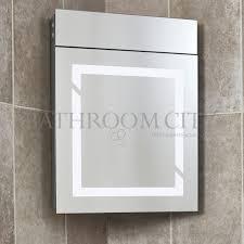 triona corner mirror with shaver socket