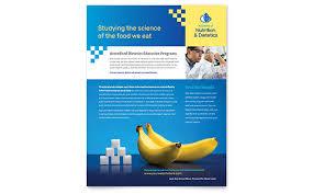 ian flyer template design