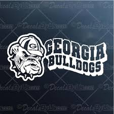 Georgia Bulldogs Decal Georgia Bulldogs Car Sticker Low Prices