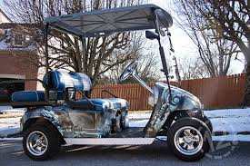 Custom Wraps Decals Turn Up The Fun On Golf Carts Utvs 12 Point Signworks