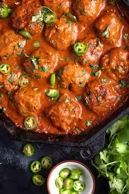 Keto Chicken Tikka Masala Meatballs - Cast Iron Keto