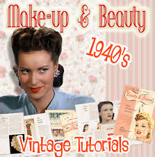 1940 s makeup tutorial books vine
