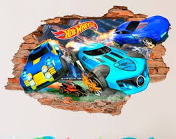 Hot Wheels Decal Etsy