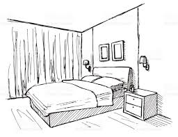 cartoon bed drawing at paintingvalley