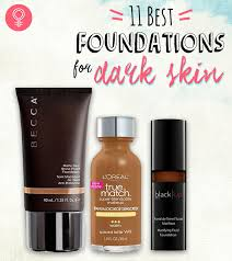 11 best foundations for dark skin