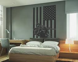 Kik732 Wall Decal Sticker Us Army Soldiers Military Special Etsy