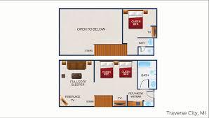 loft fireplace suite premium suite