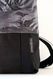 Backpack, fern, gray – Emma Leppermann e-shop