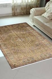 peacock ardabil rug in 4x6 silk